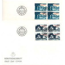 FDC Norge. Europa XX transport 1988 (4)