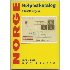 Katalog. Helpostkatalog 1872-1991, med priser. 1996/97 utg.