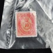 Medalje. 302. Frimerkepin. 10 Øre posthorn