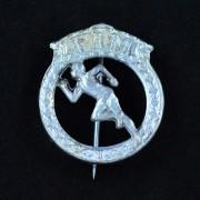 Medalje. 319. Jakkemerke. FIM Sølv