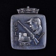Medalje. 328. Jakkemerke. Skytlermerke Oslo 1964