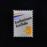 Medalje. 342. Frimerkepin. Finsk