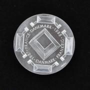 Medalje. 378. Dansk-Fransk kulturår 1987-88