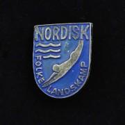 Medalje. 383. Jakkemerke. Nordisk Folke Landskamp