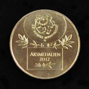 Medalje. 401. Årsmedaljen 2012