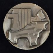 Medalje. 408. TKY 1872-1972-100V