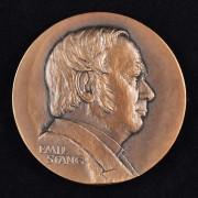 Medalje. 412. Høyre 100år 1984