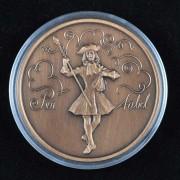 Medalje. 414. Per Aabel