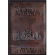 Medalje. 496. Det frivillige skyttervesen 1893-1968