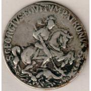 Medalje. 592. Saint George slåss med dragen.