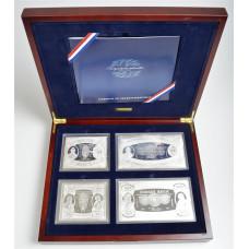 Medalje 599. Kopi av det frie Norges første sedler i sølv