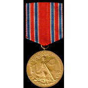 Medalje. 656. Landssanger festen 1914 Kristiania