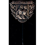 Medalje. 662. Fredsmarsjen 1945