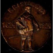 Medalje. 681. Kristiania 300 år 1624-1924
