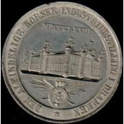 Medalje. 691. Industriutstilling Drammen