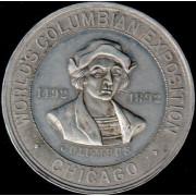 Medalje. 693. World Columbian Expostion 1492-1892