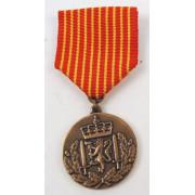 Medalje. 611. Hæren. For fred og frihet.