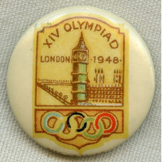 Medalje. 774. London 1948. OL button