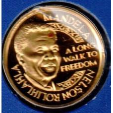 Medalje. 784. Nelson Mandela medalje i 999 gull.