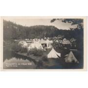 Postkort Buskerud. Oslospeidernes leir Filtvedt 1926